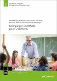 Bedingungen und Effekte guten Unterrichts (eBook, PDF)