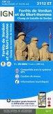 Forets de Verdun et du Mort-Homme 1 : 25 000