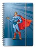 Collegetimer A5 Superhero 2016/2017 - Ringbuch