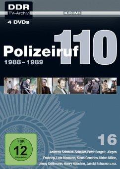 Polizeiruf 110 - Box 16 (4 Discs)