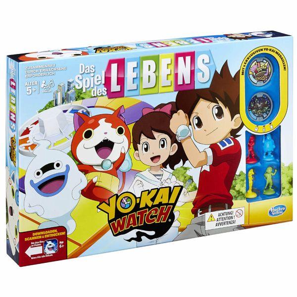 Hasbro B6493100 Spiel Des Lebens Yokai Watch Familienspiel Bei