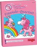 HABA 301793 - Freunde-Quartett - Einhorn Glitzerglück