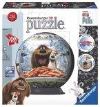Ravensburger 12216 - Pets, Puzzleball, 3D, 108 Teile