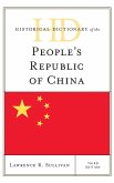 Historical Dictionary of the People's Republic of China, Third Edition