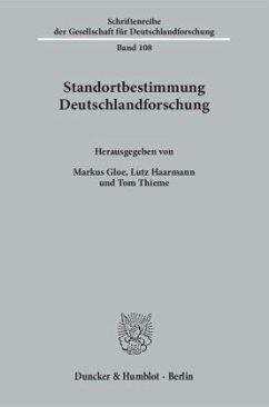 Standortbestimmung Deutschlandforschung