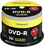 1x50 Intenso DVD-R 4,7GB 16x Speed, Cakebox
