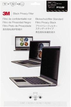 3M PF156W9B Blickschutzfilter Black für 39,6cm (15,6 ) 16:9