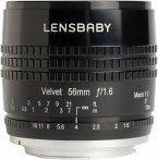 Lensbaby Velvet 56 Canon EF Objektiv für Canon (62 mm Filtergewinde, Vollformat / APS-C Sensor)