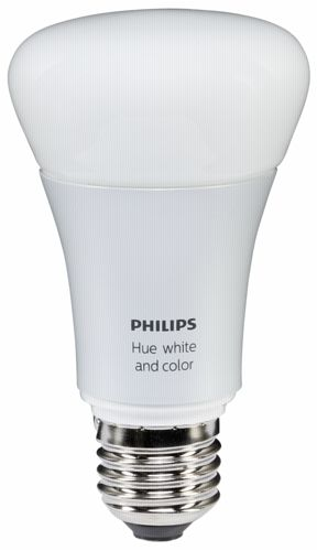 philips hue led lampe e27 dim 10w 60w wei farbig 806. Black Bedroom Furniture Sets. Home Design Ideas