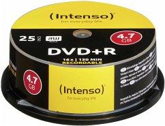 1x25 Intenso DVD+R 4,7GB 16x Speed, Cakebox