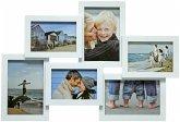Henzo Holiday weiß Galerie für 6 Bilder 3x9x13 3x10x15 8121102