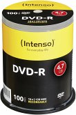 1x100 Intenso DVD-R 4,7GB 16x Speed, Cakebox