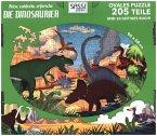 Reise, entdecke, erforsche, Dinosaurier (Kinderpuzzle)