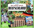 Reise, entdecke, erforsche, Deutschland (Kinderpuzzle)