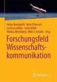 Forschungsfeld Wissenschaftskommunikation