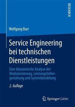 Service Engineering bei technischen Dienstleistungen - Burr, Wolfgang