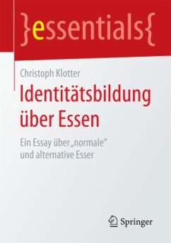 Identitätsbildung über Essen - Klotter, Christoph