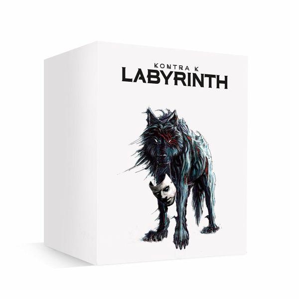 labyrinth limitierte box box set von kontra k auf audio. Black Bedroom Furniture Sets. Home Design Ideas