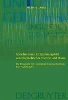 sprachnormen im spannungsfeld schriftsprachlicher theorie und praxis lange maria barbara