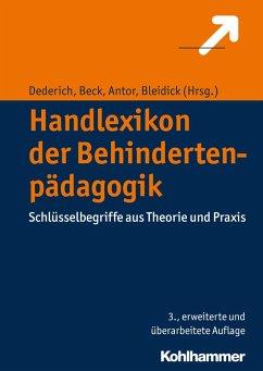 Handlexikon der Behindertenpädagogik (eBook, PDF)