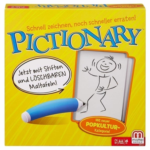 Pictionary Spiel