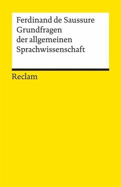 Grundfragen der allgemeinen Sprachwissenschaft (eBook, ePUB) - Saussure, Ferdinand De