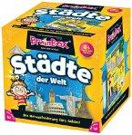 Carletto 2094944 - Brain Box Städte der Welt, Denkspiel, Gedächtnisspiel, Konzentrationsspiel
