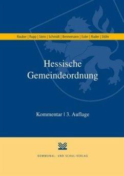 Hessische Gemeindeordnung - Rauber, David; Rupp, Matthias