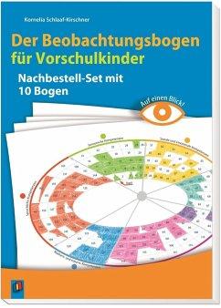 Auf einen Blick! Der Beobachtungsbogen für Vorschulkinder - Schlaaf-Kirschner, Kornelia