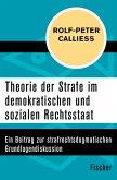 Theorie der Strafe im demokratischen und sozialen Rechtsstaat (eBook, ePUB)