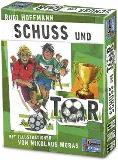 Lookout Games 22160011 - Schuss und Tor, grün