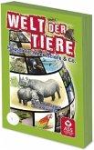 ASS Altenburger Spielkarten 22509801 - Quizfächer, Welt der Tiere
