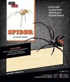 IncrediBuilds: Spider 3D Wood Model