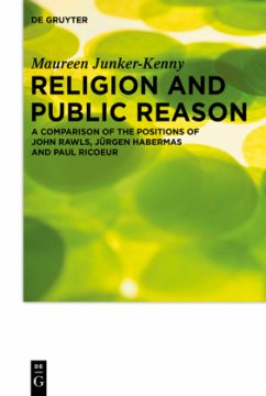 Religion and Public Reason - Junker-Kenny, Maureen