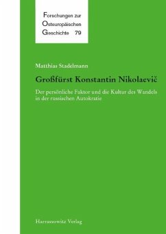 Großfürst Konstantin Nikolaevic (eBook, PDF) - Stadelmann, Matthias