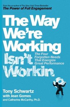 Way We´re Working isn´t Working