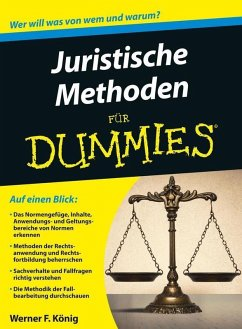 Juristische Methoden für Dummies (eBook, ePUB) - König, Werner
