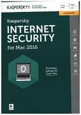 Kaspersky Internet Security for Mac 2016, Upgrade, 1 CD-ROM