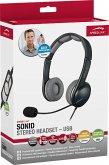Speedlink SONID Stereo Headset - USB, black-grey