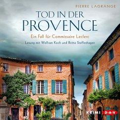 Tod in der Provence / Commissaire Leclerc Bd.1 (MP3-Download) - Lagrange, Pierre