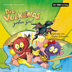 Die Vulkanos geben Gas! / Vulkanos Bd.5 (MP3-Download) - Gehm, Franziska