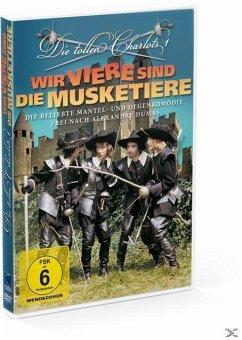 Die tollen Charlots - Wir Viere sind die Musket...