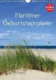Maritimer Geburtstagsplaner (Wandkalender immerwährend DIN A4 hoch)