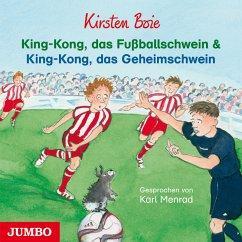 King-Kong, das Fußballschwein und King-Kong, das Geheimschwein (MP3-Download) - Boie, Kirsten