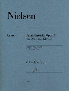 Fantasiestücke op. 2 für Oboe und Klavier - Nielsen, Carl