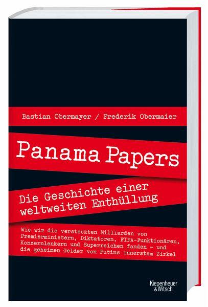 Panama Papers - Obermayer, Bastian; Obermaier, Frederik
