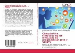 Comparativa sintáctica de los lenguajes de programación Java y Groovy