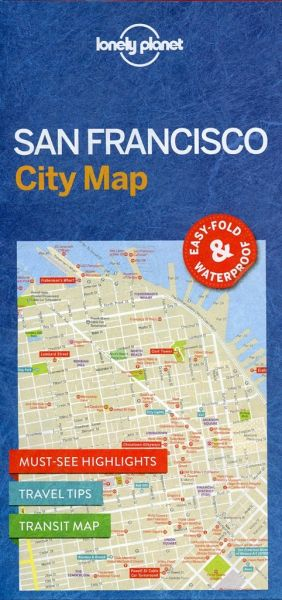 Lonely Planet San Francisco City Map von Lonely Planet - Landkarten on