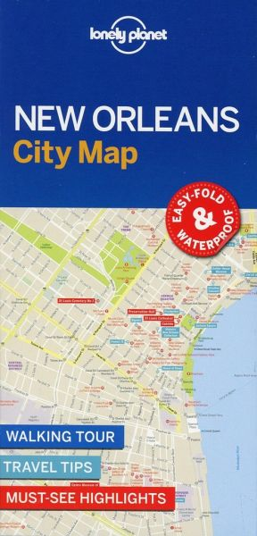 Lonely Planet New Orleans City Map