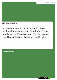 Schattenmotive in der Romantik.